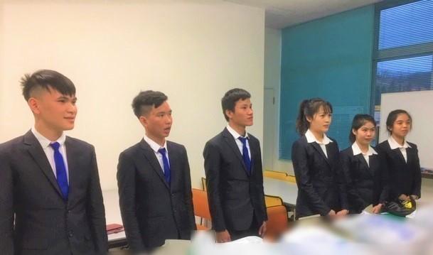 ベトナム人研修生の2期生が・・・!